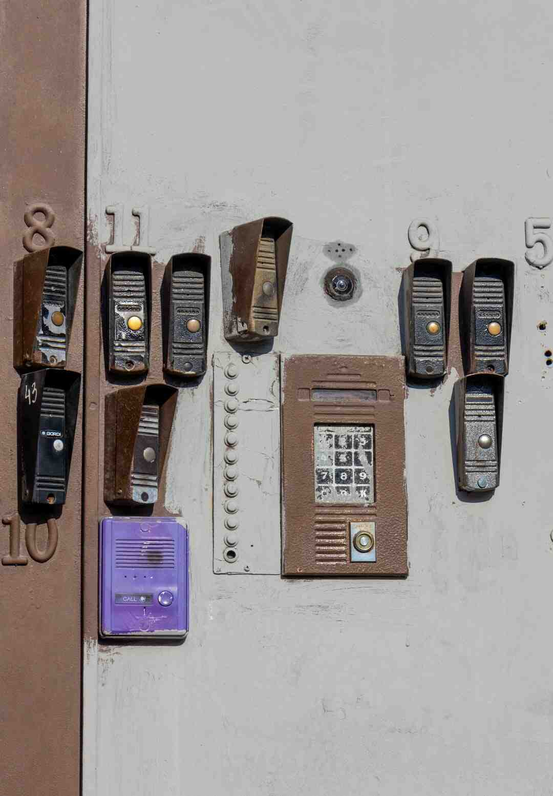Comment ouvrir interphone bticino
